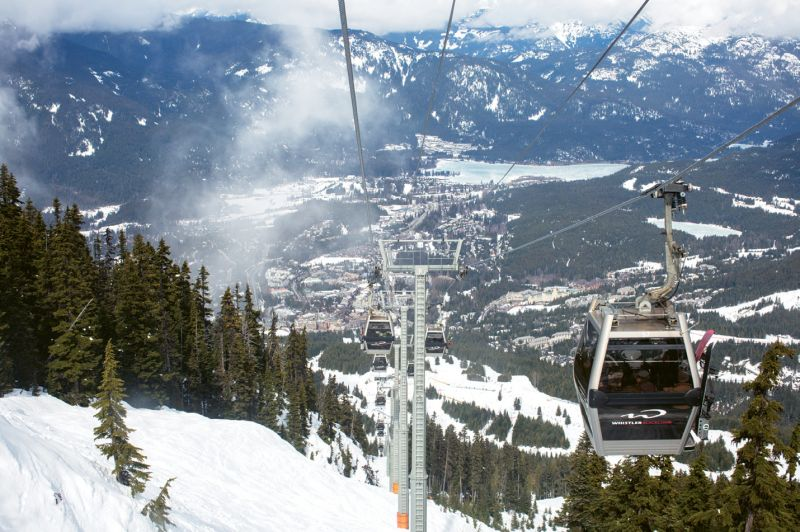 Whistler Blackcomb's amenities are first class, from the high-speed gondola...