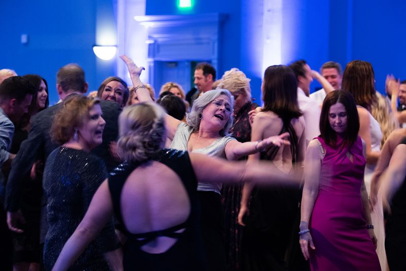 Following the competition, guests were invited to bring their own dance moves to the floor.