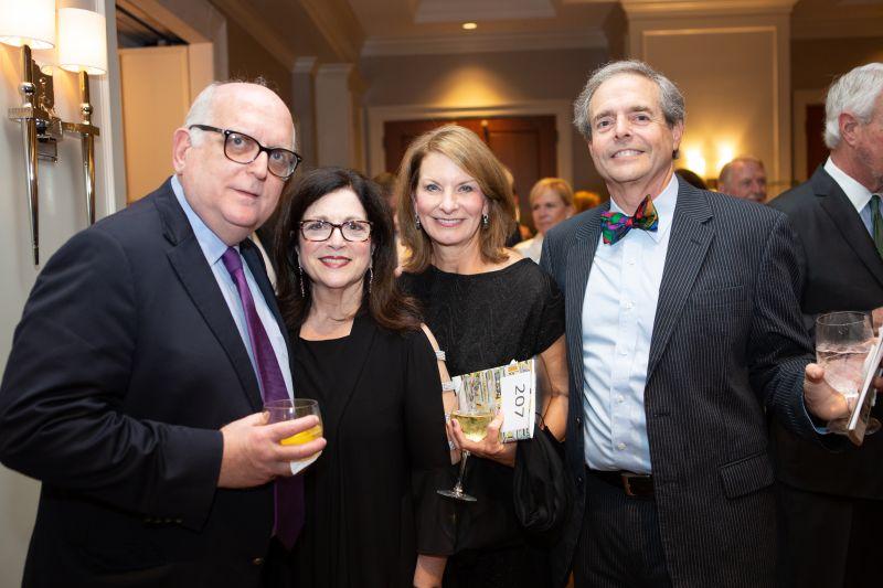 David Popowski, Anita Zucker, and Bené and Charles Rittenberg