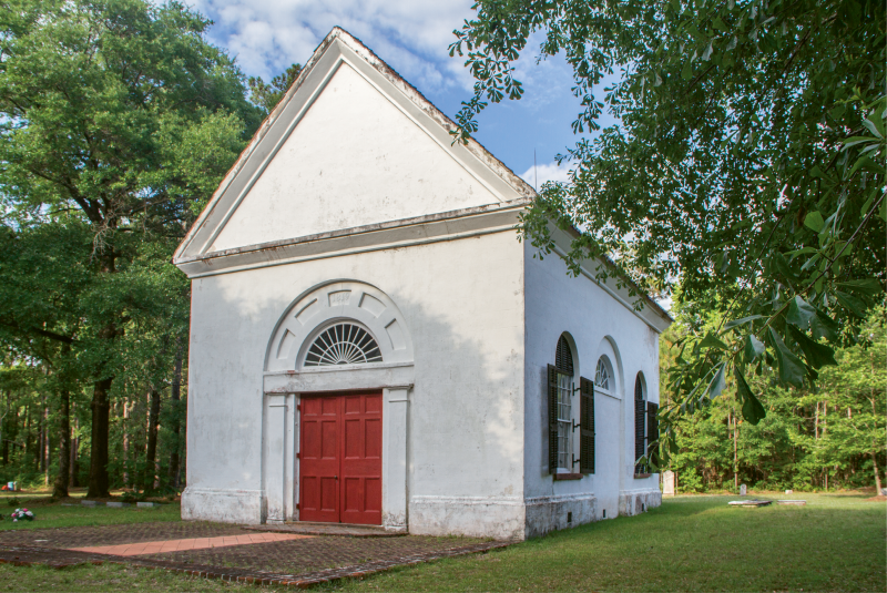 St. Thomas Parish Church was listed in the National Register of Historic Places in 1977.