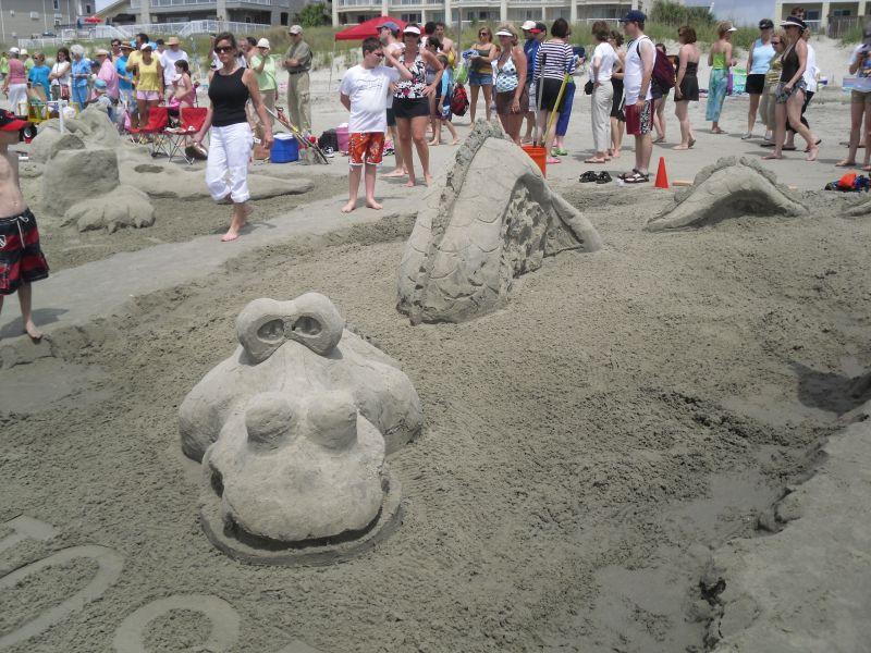 Isle of Palms Sand-Scultpting Contest