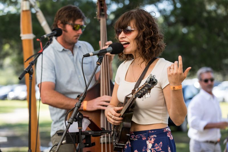 Lauren Bevins Cahill of John's Island band The Lowhills