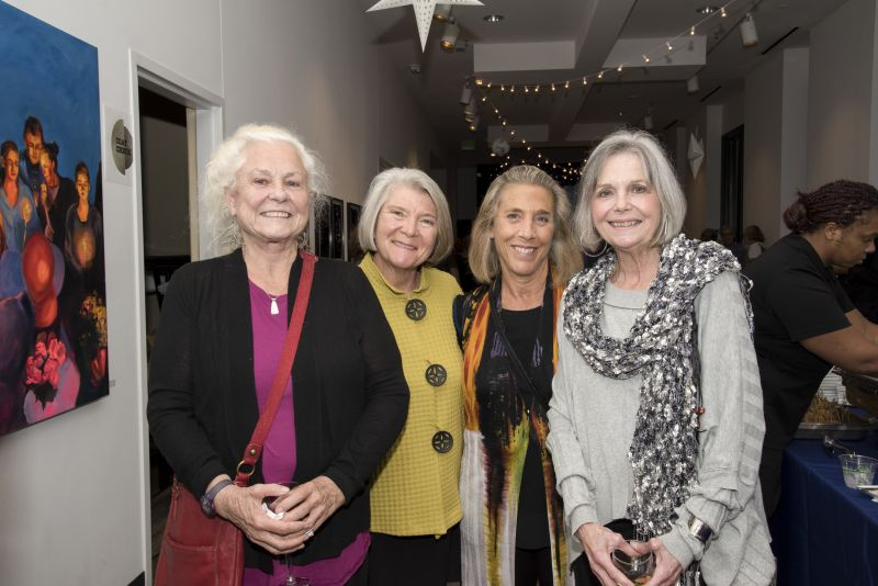 Connie Knox, Pat Votava, Cheryl Keats, and Karen Vournakis