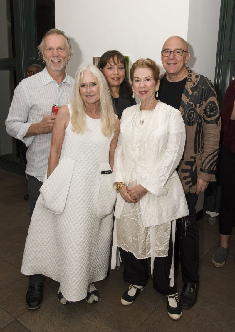 David and Robben Richards, Yvette Dede, and Ileen and Mark Swerdloff