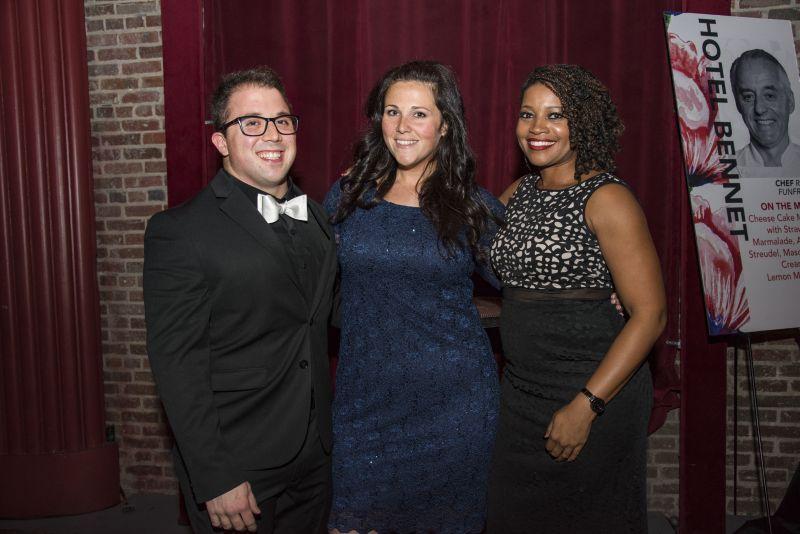 Dustin Bushman, Megan Cwikla, and Yakisha Bookard