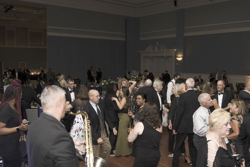 Guests ended the evening on the dance floor.
