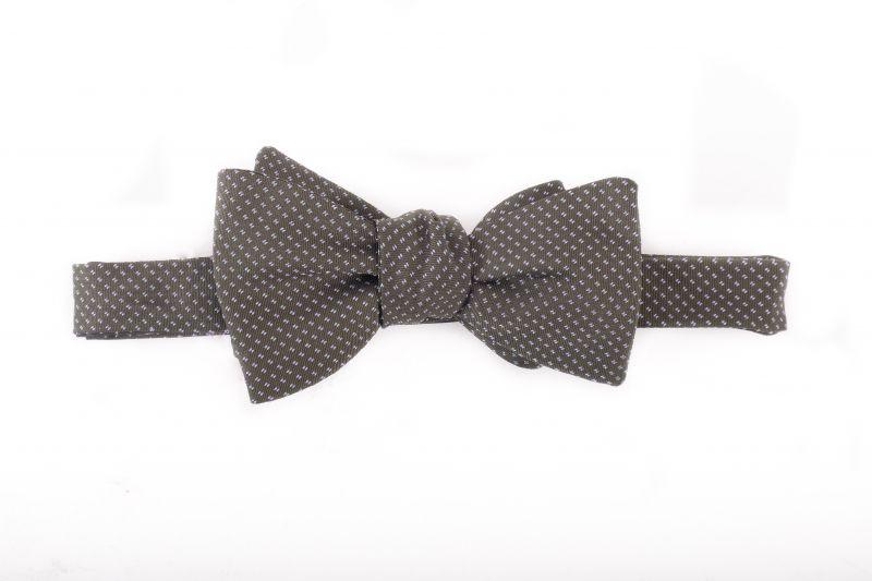 R. Hanauer silk bow tie, $75 at Grady Ervin & Co.