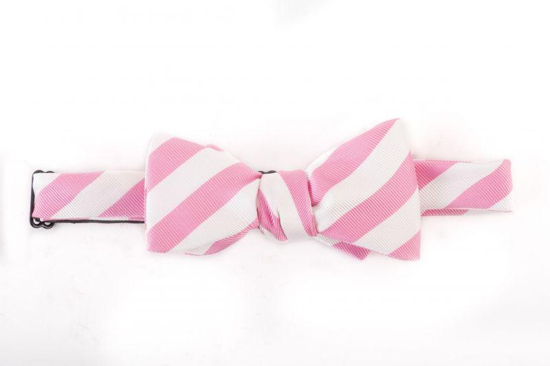 """R. Hanauer silk """"Bar Stripes"""" bow tie, $55 at M. Dumas & Sons"""