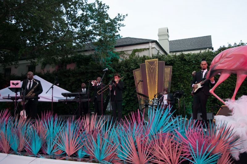 The Live Exchange Party Band provided tunes throughout the night.