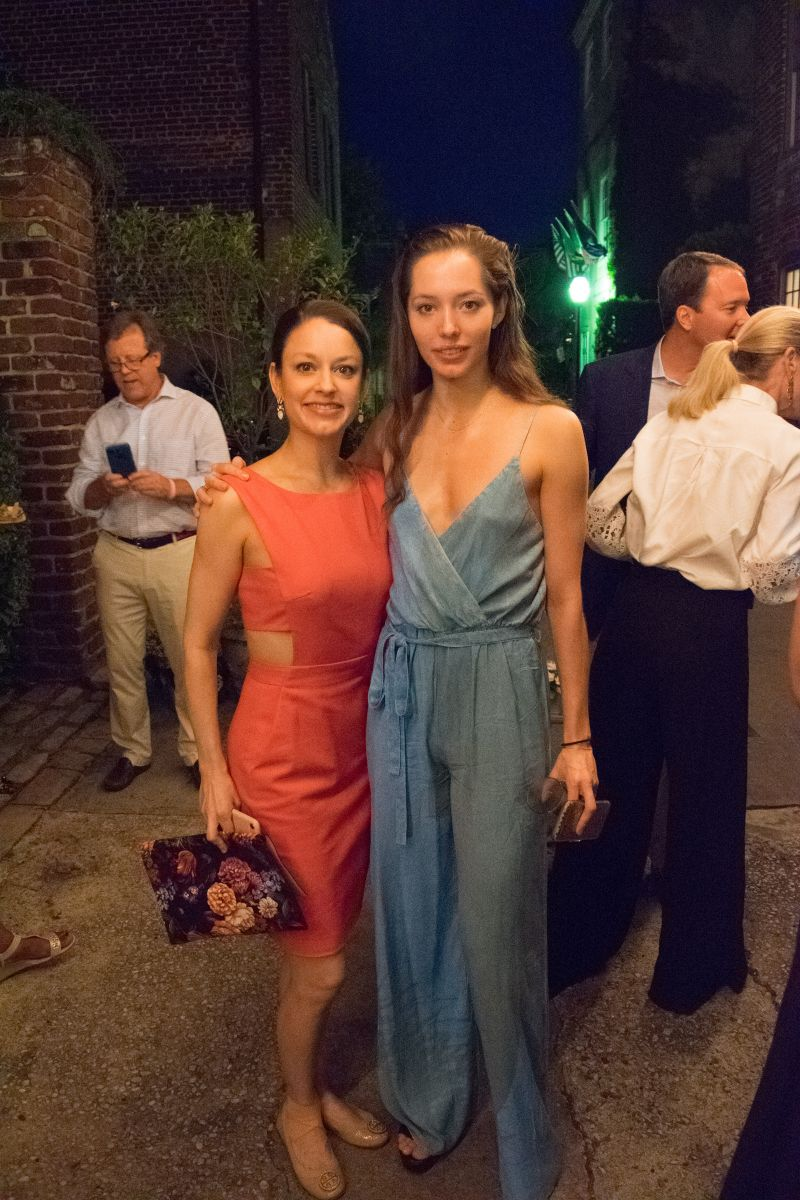 Jennifer Lauren with New York City Ballet member Unity Phelan