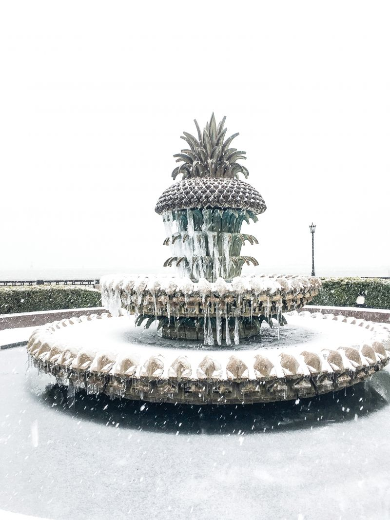 <strong>Waterfront Park: </strong>Pineapple Fountain slushees, anyone? <em>Photograph byMolly Wickham</em>