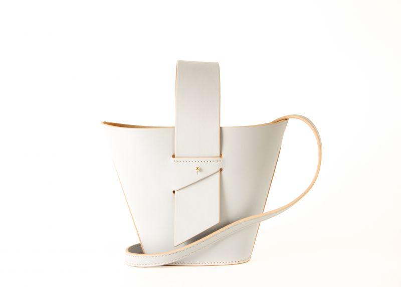 "Carolina Santo ""Domingo Amphora"" mini bag in ""azure,"" $795 at Hampden"
