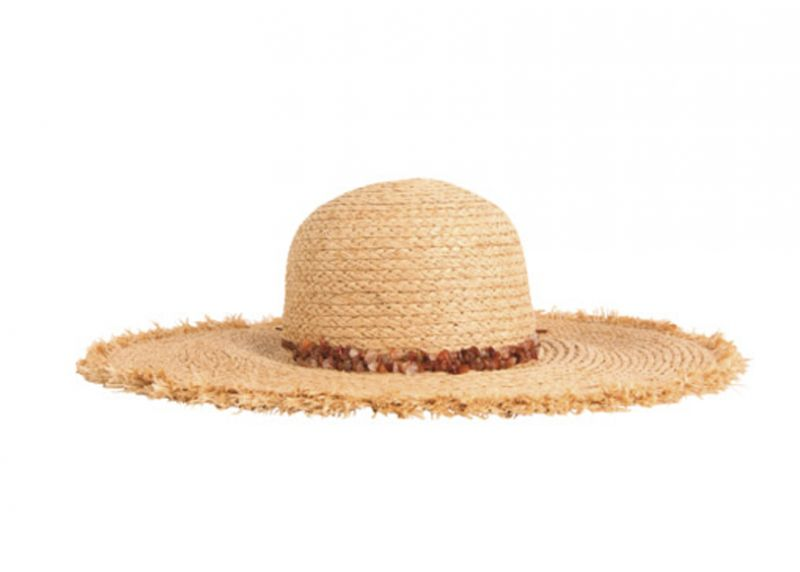 San Diego Hat Co. raffia-braid hat, $62 at Out of Hand