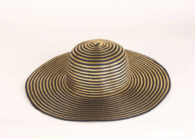 Maris Dehart metallic floppy hat, $48 at Maris Dehart