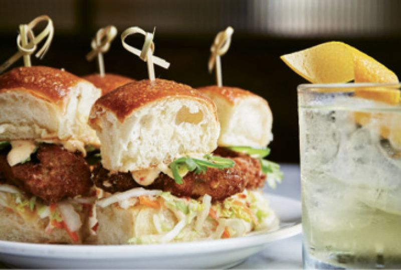 "Small Sammies: ""I love the oyster sliders at The Ordinary, the Tavern Burger at Little Jack's Tavern, and the little happy hour sliders at Edmund's."" —JM"