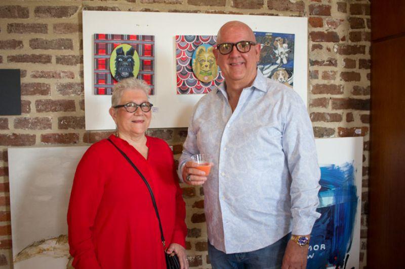 Harriett Grady and Jim Moring