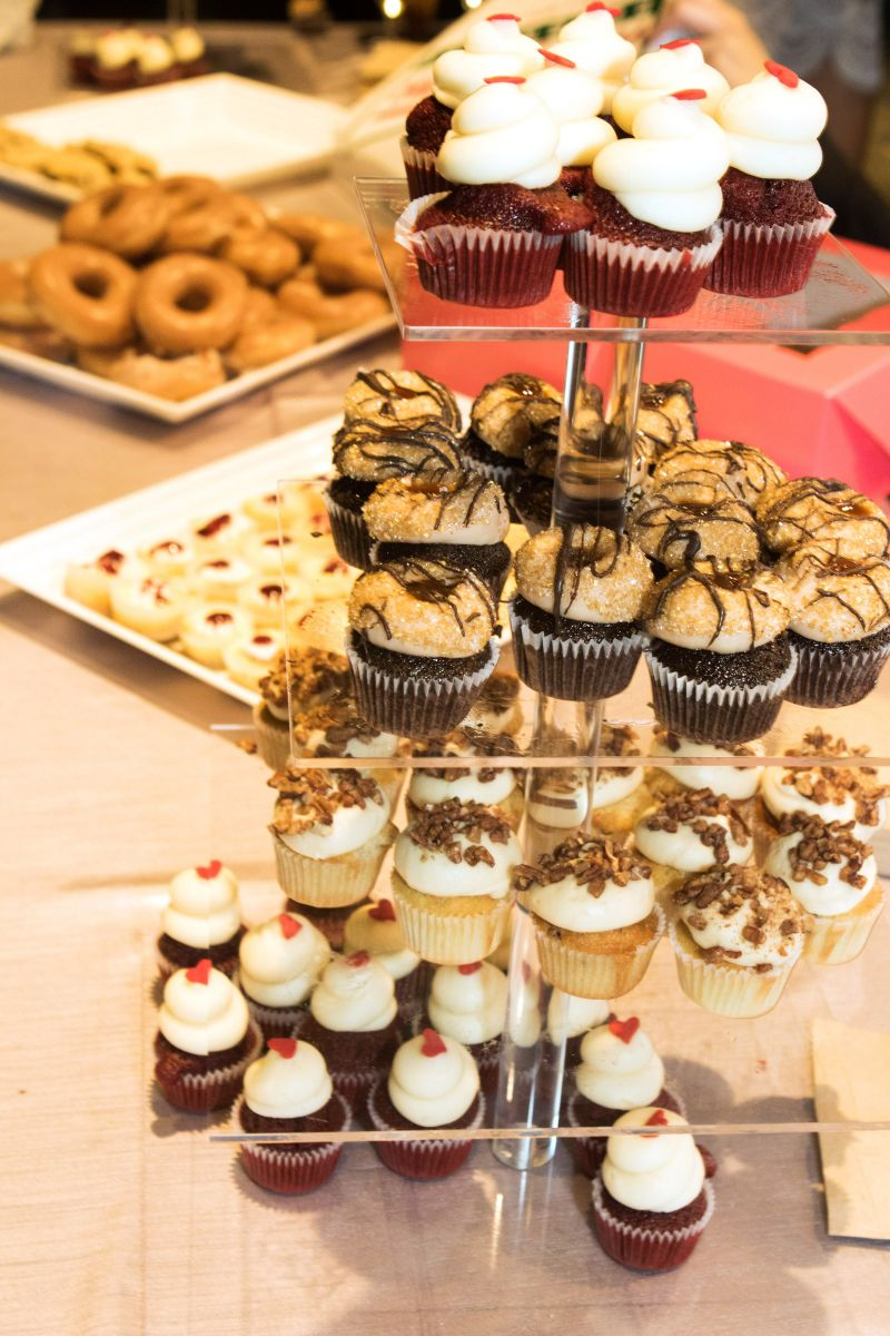Mouth-watering confections from Cupcake Down South, Bakies, and Krispy Kreme