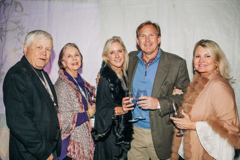 Larry Tarleton, Judy Tarleton, Laurie Tarleton, Steve Peters, and Paige Crone