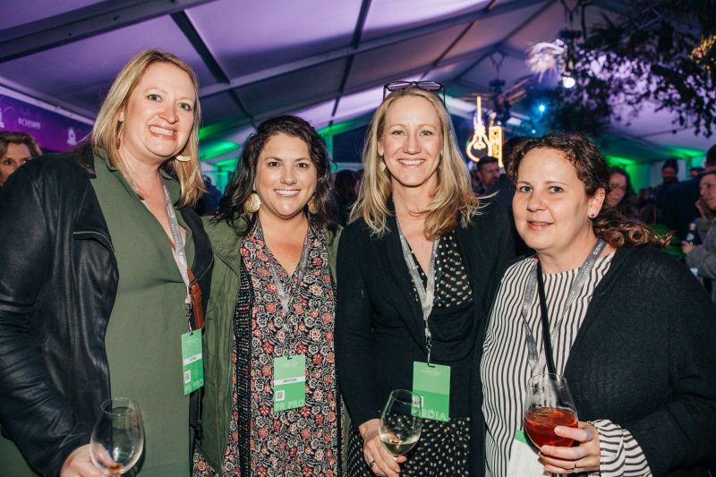 Katie Wells, Jennifer Bilbro, our editor-in-chief Darcy Shankland, and Angela Hall