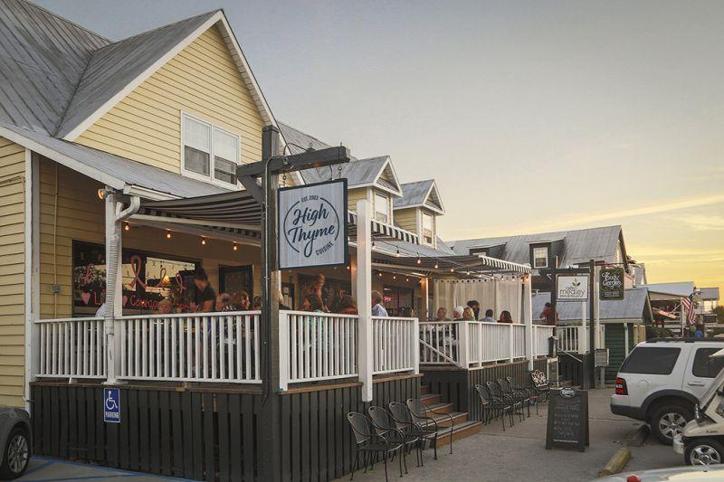 Sullivan's Island - High Thyme Restaurant