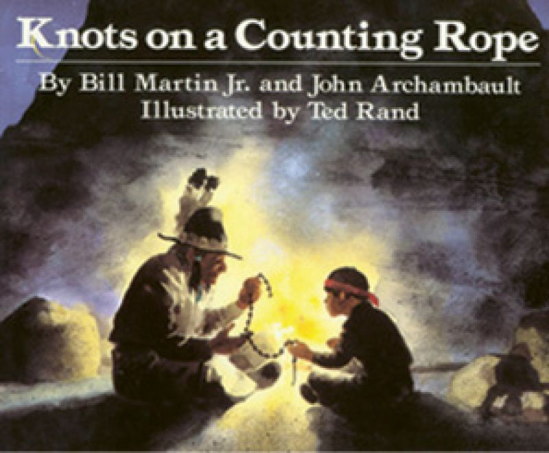 """Bedtime Story: """"One of Bitty and Beau's favorite children's books is Knots on a Counting Rope."""""""