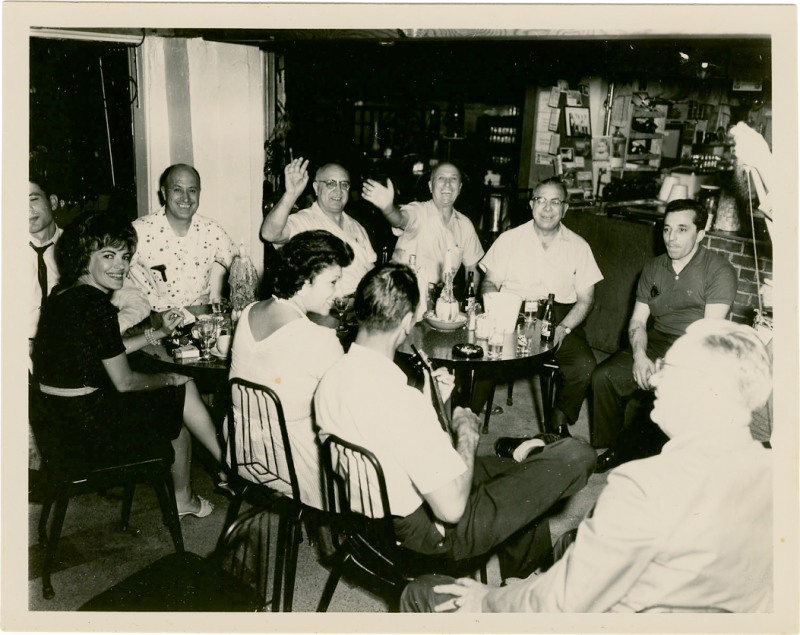 Many family members and friends were musically inclined, and there were get-togethers every couple of weeks.