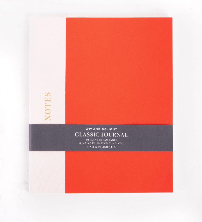 Wit & Delight classic journal, $13 at Mac & Murphy