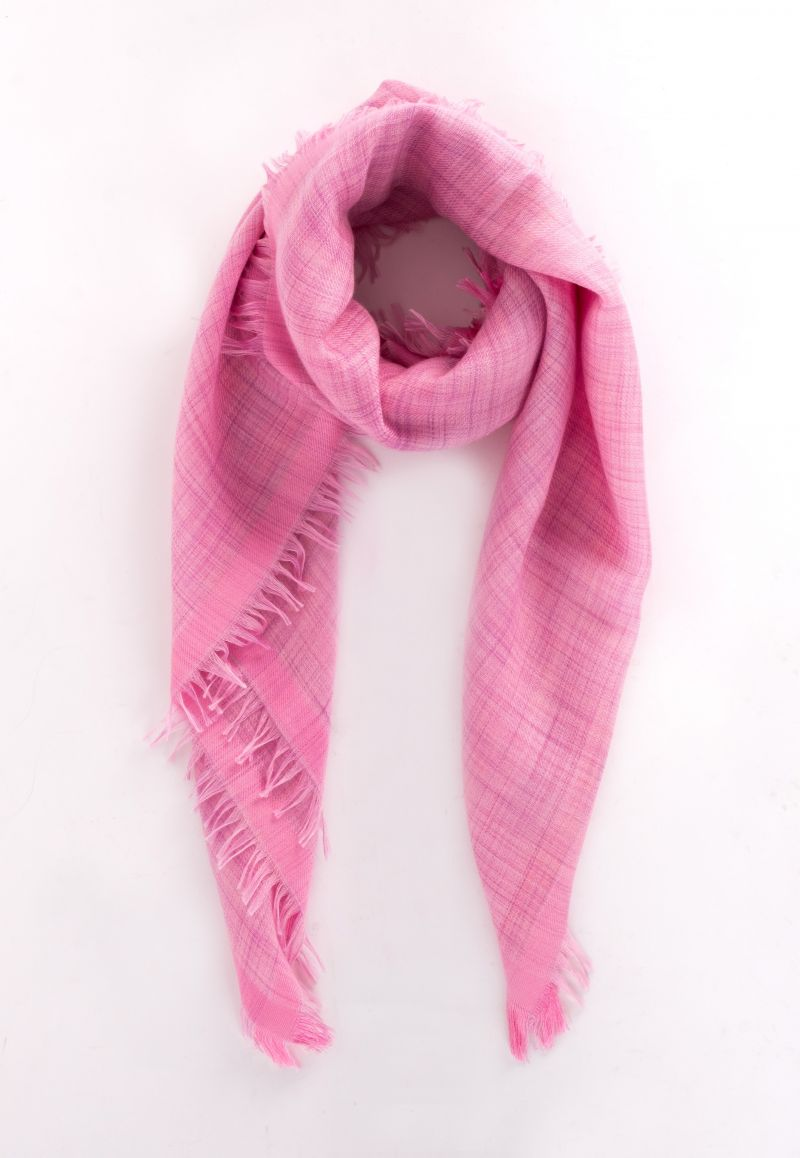 "Loro Piana ""Brina"" linen scarf, $475 at Gwynn's of Mount Pleasant"