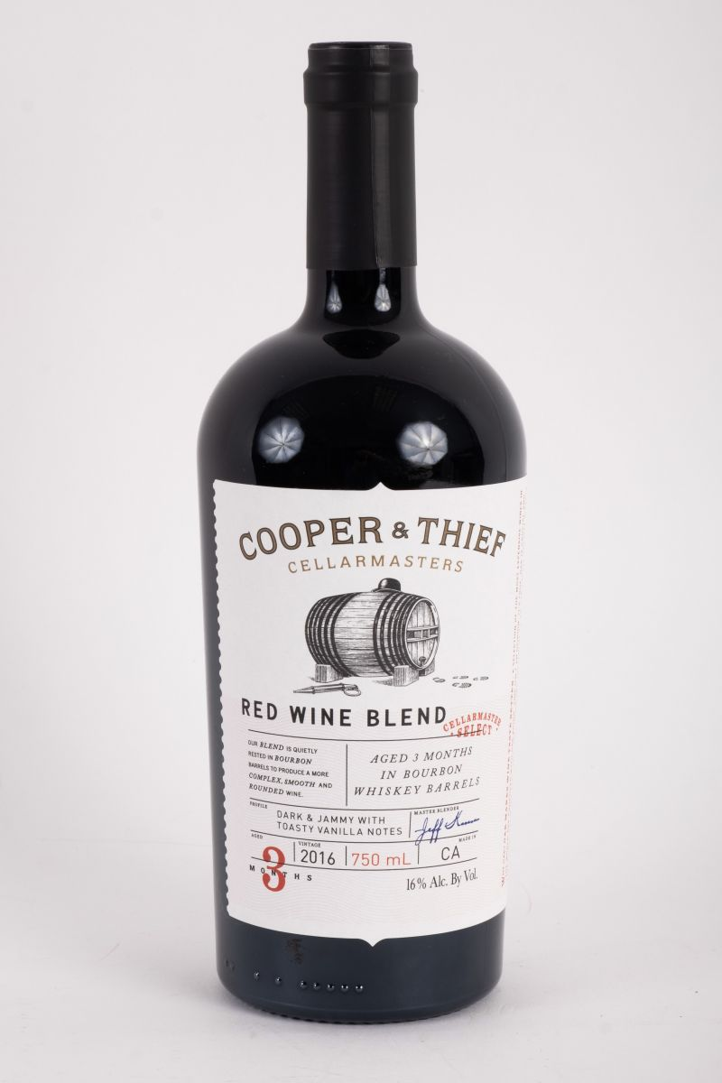 "Cooper and Thief ""Dark and Jammy"" red wine blend, $22 at Bottles Mount Pleasant"