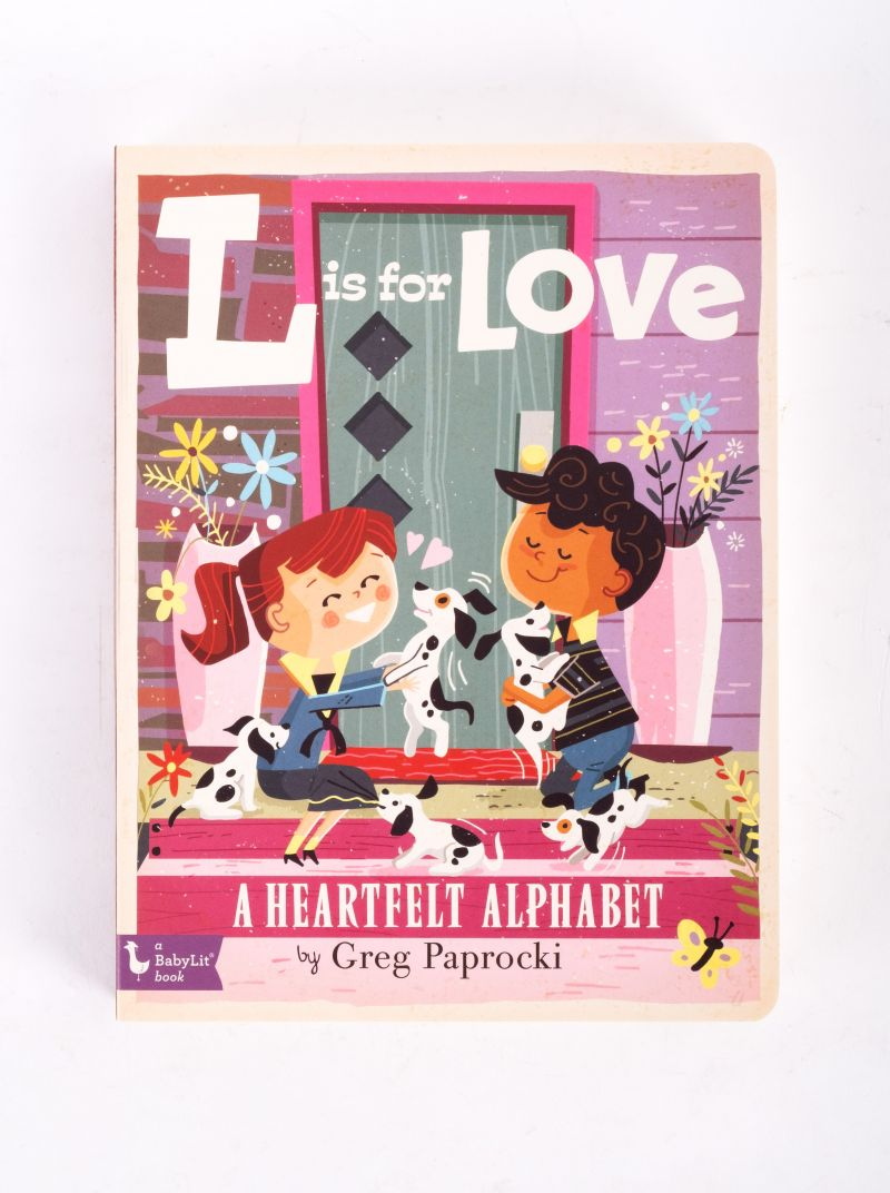 """L is for Love"" book, $10 at Under the Almond Trees"
