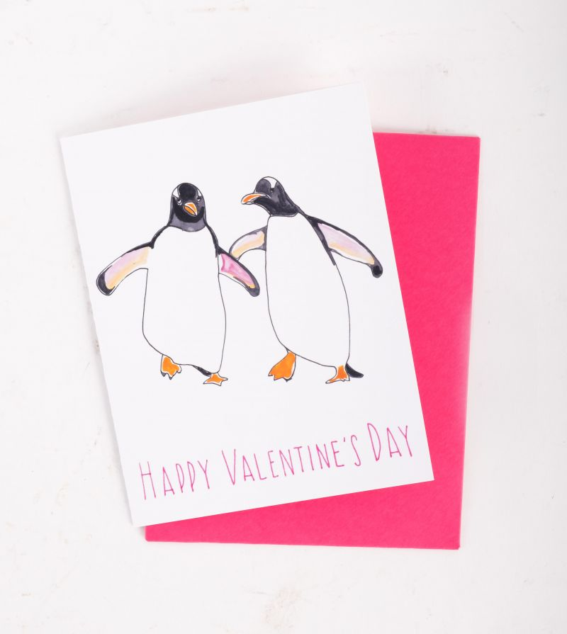 Slow Poke Press Valentine's Day card, $4 at Christophe Artisan Chocolatier