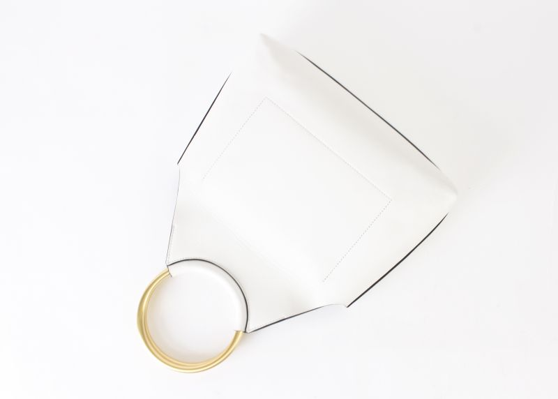 Flynn Chloe bag in white, $395 at Shoes on King